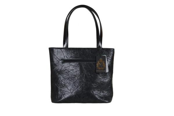 Кожаная сумка Amanda Black2 детали 5