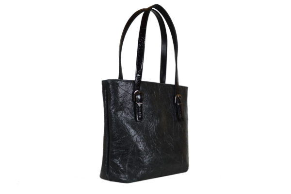 Кожаная сумка Amanda Black2 детали 2