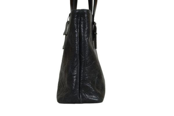 Кожаная сумка Amanda Black2 детали 4