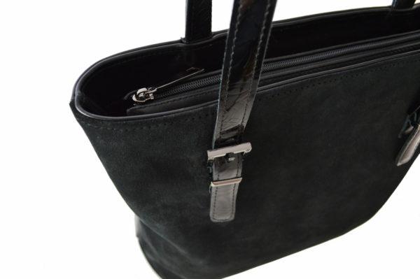 Черные кожаные сумки ariana black 3