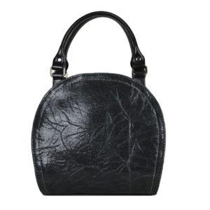Кожаная сумка Celina Black детали 1