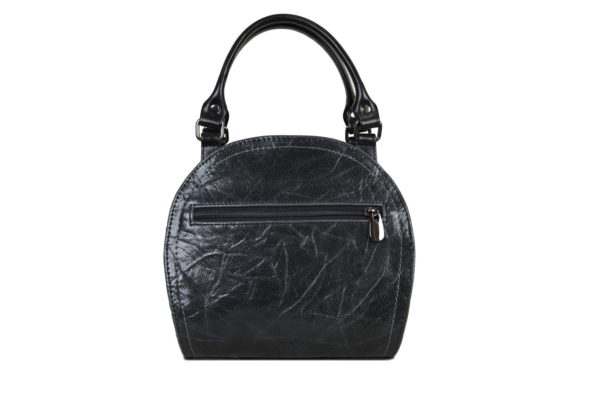 Кожаная сумка Celina Black детали 4