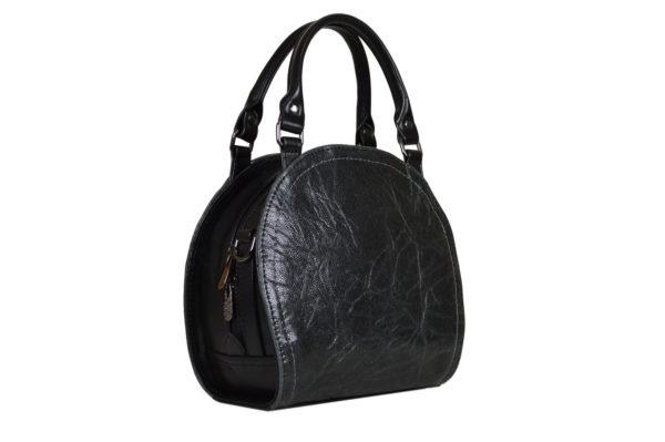 Кожаная сумка Celina Black детали 2