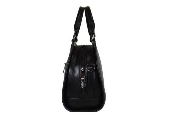 Кожаная сумка Celina Black детали 3