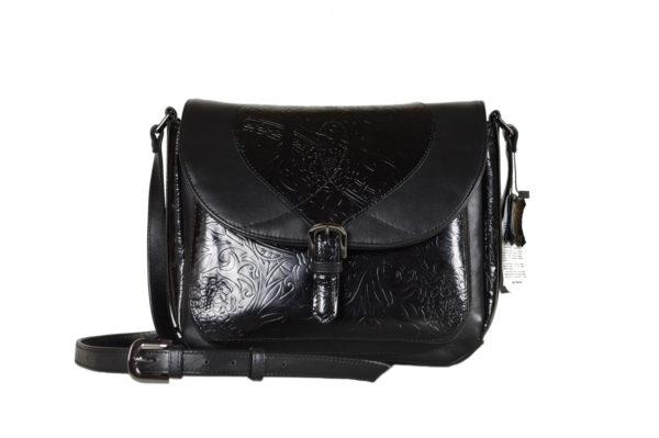 Кожаная сумка Donna Black детали 1.1