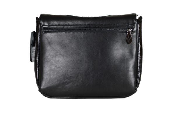 Кожаная сумка Donna Black детали 1.4