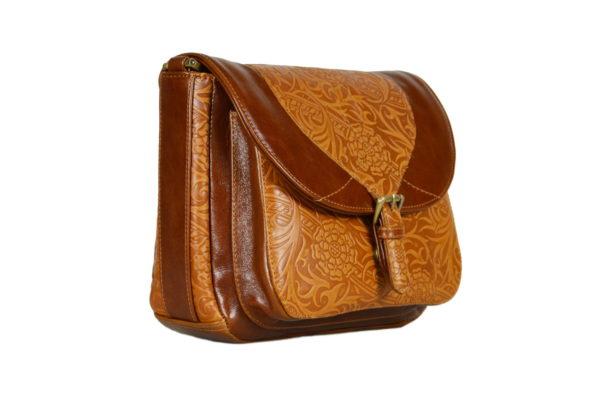Кожаная сумка donna ginger детали 2