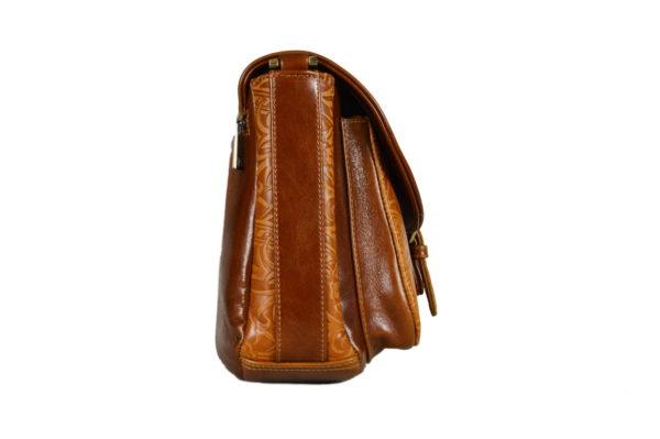 Кожаная сумка donna ginger детали 3
