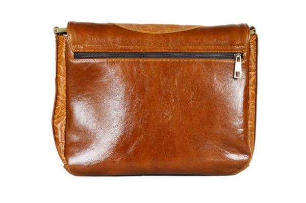 Кожаная сумка donna ginger детали 4
