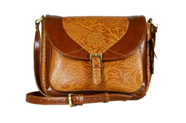 Кожаная сумка donna ginger детали 5