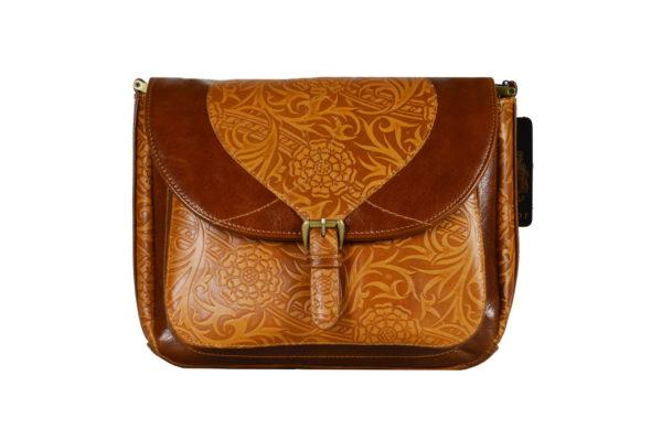 Кожаная сумка donna ginger детали 1