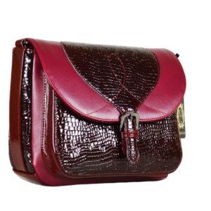 Кожаная сумка Donna Malina детали 1