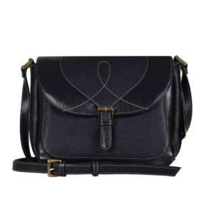 Кожаная сумка Donna Sinij детали 1.2