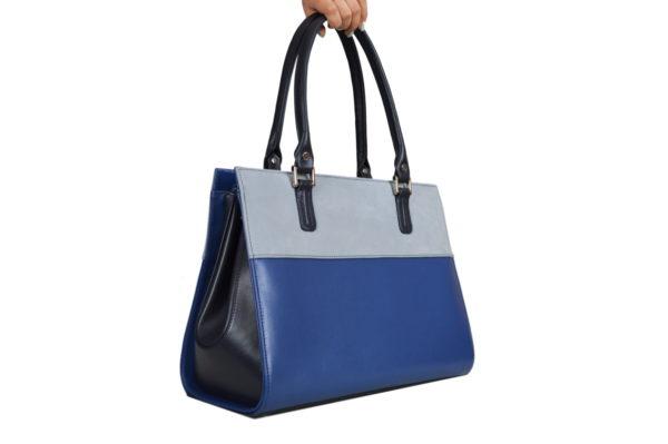 Деловая сумка женская emmi blue, детали