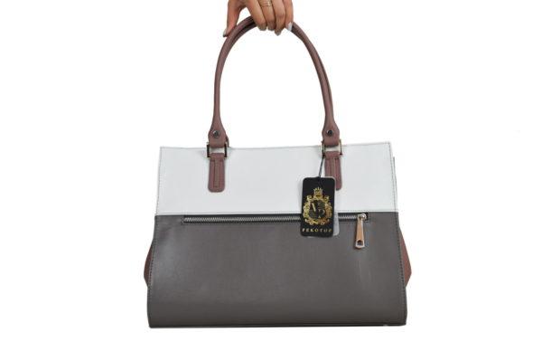 Деловая женская сумка emmi braun, сзади