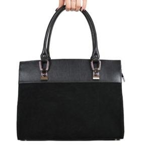 Черная кожаная сумка gabriella-black