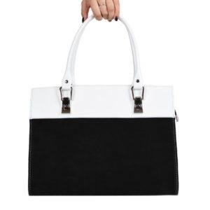 Деловая кожаная сумка gabriella-white