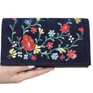 Кожаный клатч Ganine Flower2 ф. 1