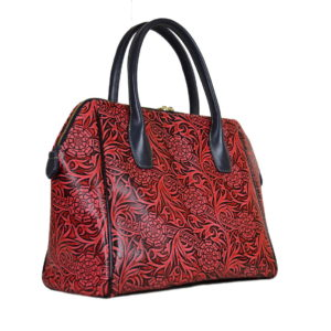 Кожаная сумка Grazia Krasnaya Pekotof ф. 1