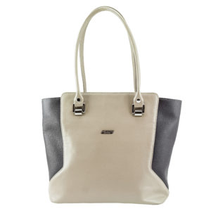 Кожаная сумка ivona beige