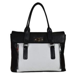 Кожаная сумка margaret white детали 1