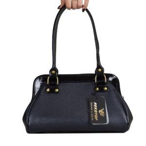 Кожаная сумка nina black