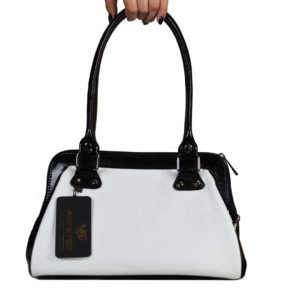 Кожаная сумка nina-white