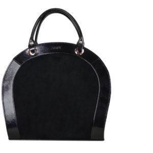 Кожаная сумка Roomy Black детали 1