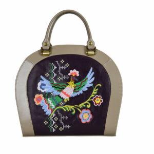 Кожаная сумка Roomy Etno детали 1