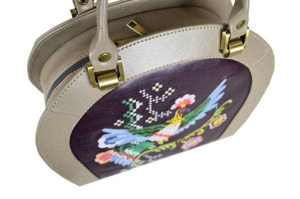 Кожаная сумка Roomy Etno детали 4