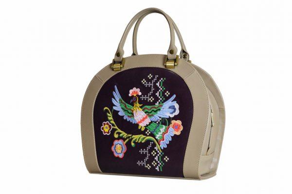 Кожаная сумка Roomy Etno детали 2