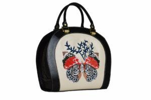 Кожаная сумка Roomy Butterfly детали 2