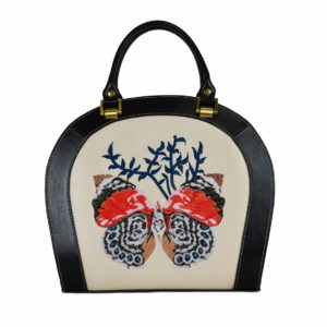 Кожаная сумка Roomy Butterfly детали 1