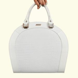 Женская сумка белая roomy-l