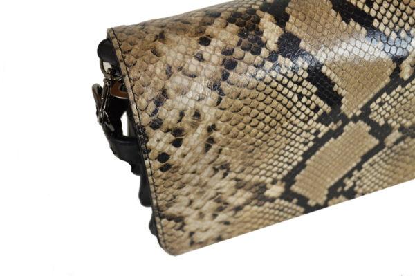 Кожаная сумка Shinny Beige ф. 3