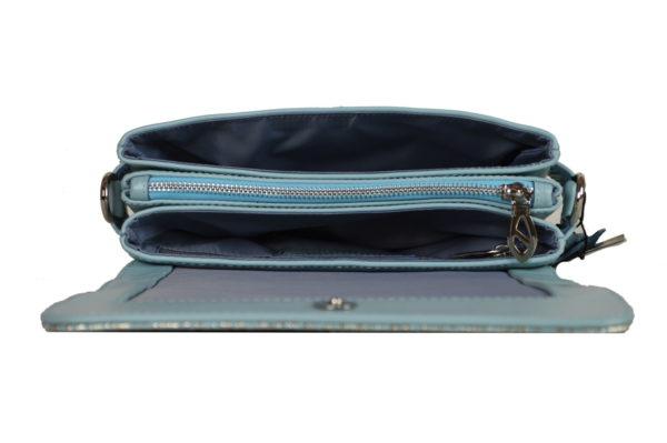 Кожаная сумка shinny color детали 4