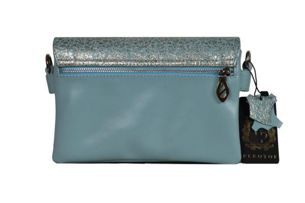 Кожаная сумка shinny color детали 2