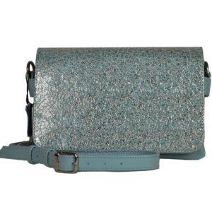 Кожаная сумка shinny color детали 5
