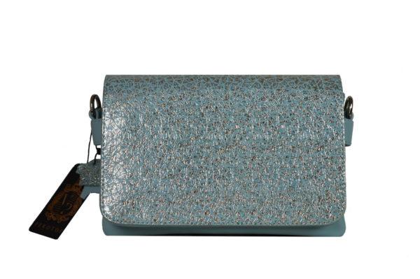 Кожаная сумка shinny color детали 1