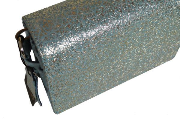 Кожаная сумка shinny color детали 6