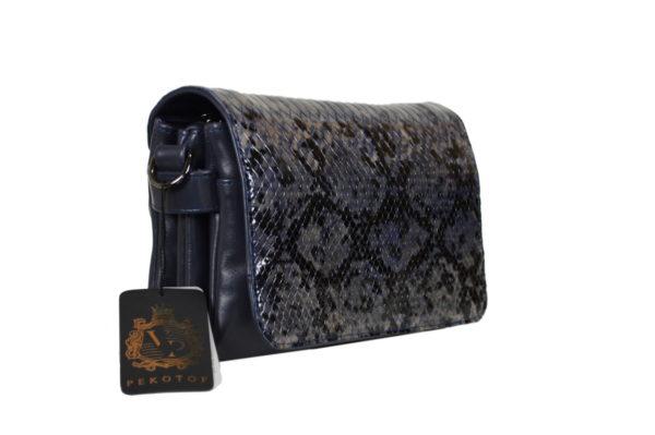 Кожаная сумка shinny scaly детали 2