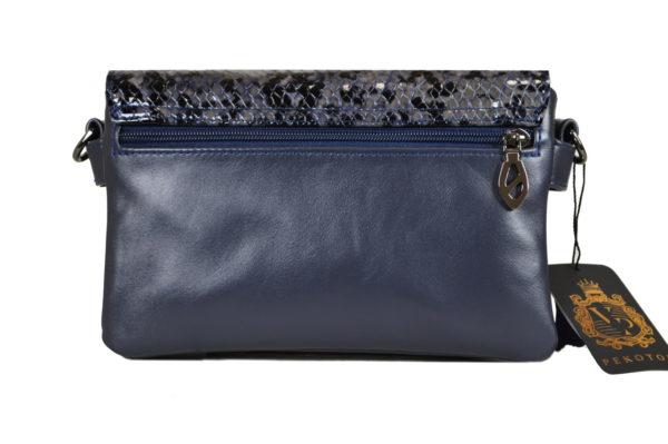 Кожаная сумка shinny scaly детали 4