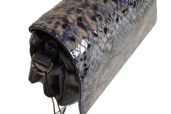 Кожаная сумка shinny scaly детали 6