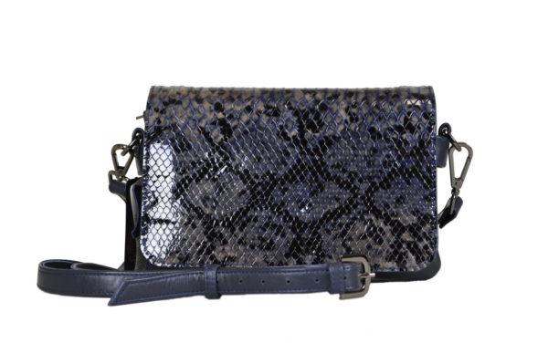 Кожаная сумка shinny scaly детали 1