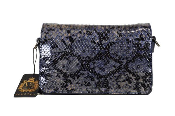 Кожаная сумка shinny scaly детали 5