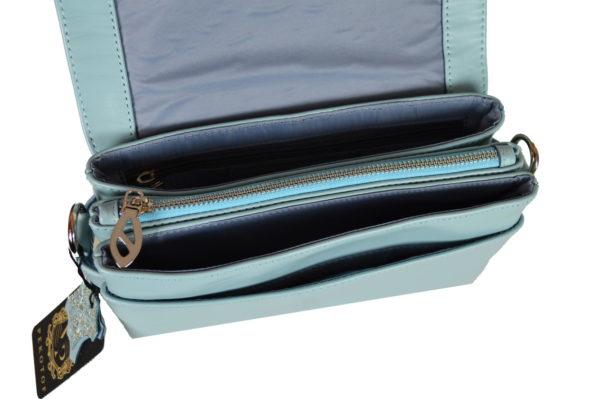 Кожаная сумка shinny sky детали 1