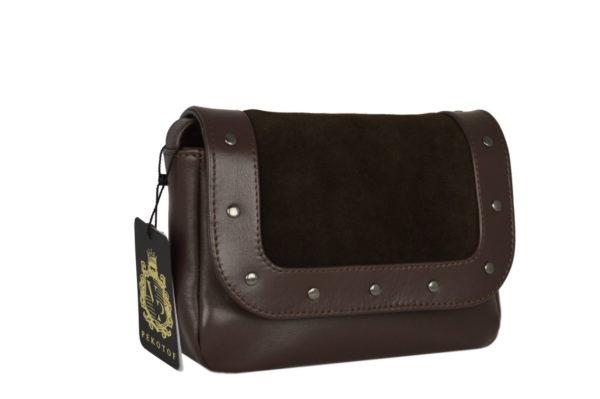 Коричневые женские сумки lilu, детали 2
