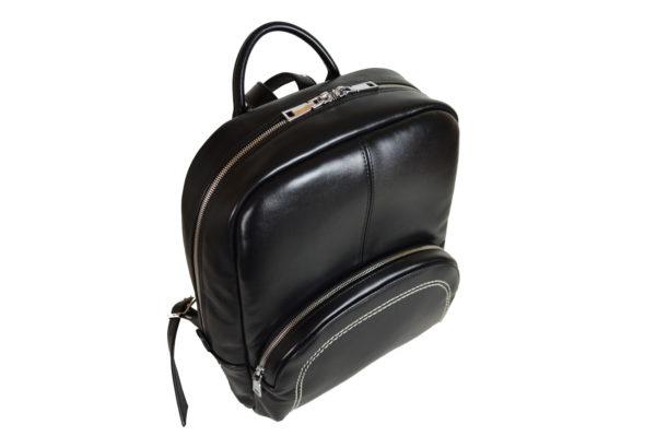 Кожаный рюкзак Viato Black2 ф. 4