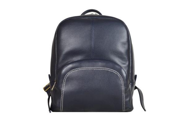 Кожаный рюкзак Viato Blue ф. 1