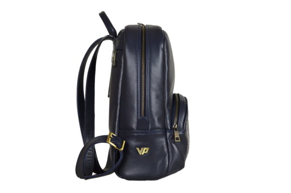 Кожаный рюкзак Viato Blue ф. 3